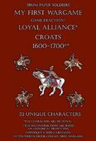 28mm Loyal Alliance 1600-1650. Light cavalry.