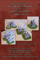 Lions of Rock. 1680-1730. 28mm paper soldiers.