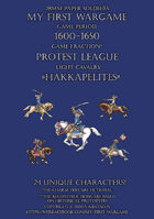 28mm Protest League 1600-1650. Light cavalry.