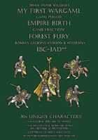 Forest Fury 100BC-100AD. Roman legions. 28mm paper soldiers.
