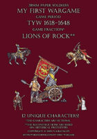 28mm Lions of Rock 1600-1650. Small set.