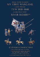 28mm River Riders 1600-1650. Small set.