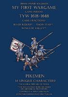 28mm Protest League. Pikemen 1600-1650.