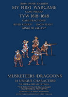 28mm Protest League. Musketeers (dragoons) 1600-1650.
