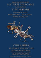28mm Protest League. Heavy cavalry. Cuirassiers 1600-1650.