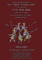 28mm Loyal Alliance. Pikemen 1600-1650.