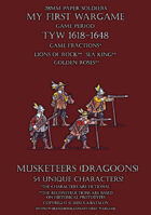 28mm Loyal Alliance. Musketeers (dragoons) 1600-1650.