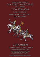28mm Loyal Alliance. Heavy cavalry. Cuirassiers 1600-1650.
