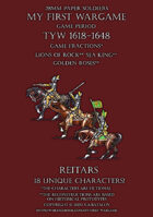 28mm Loyal Alliance. Heavy cavalry. Reitars 1600-1650.