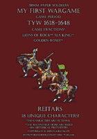 28mm Loyal Alliance. Heavy cavalry. Reitars 1600-1650.