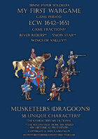 28mm ECW Protest League. Musketeers (dragoons) 1640-1660