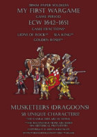 28mm ECW Loyal Alliance. Musketeers (dragoons) 1640-1660.