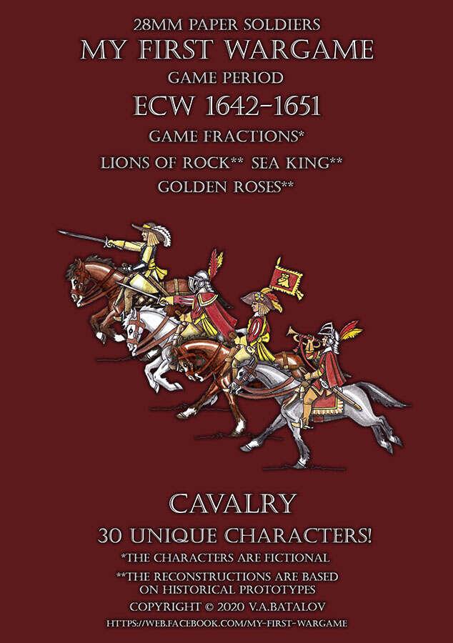 28mm ECW Loyal Alliance. Cavalry 1640-1660.