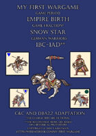 Snow Star. 100BC-100AD. German warriors. C&C - DBA2.2 adaptation.