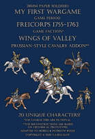 Wings of Valley. Prussian-style cavalry add-on 1755-1763