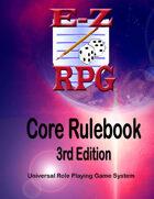 EZ RPG Core Rulebook 3rd Edition