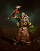 RPG Stock Art: Orc Shaman