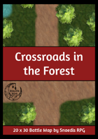 Crossroads in the Forest Map