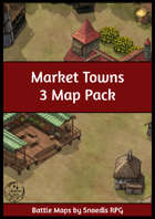 Market Towns - 3 Map Pack