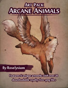Arcane Animals - Art Pack