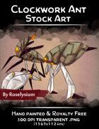 Clockwork Ant - Stock Art
