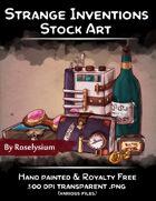 Strange Inventions - Stock Art