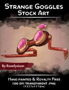 Strange Goggles - Stock Art
