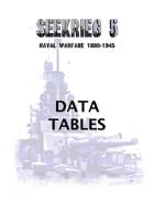 SEEKRIEG 5 - Data Tables
