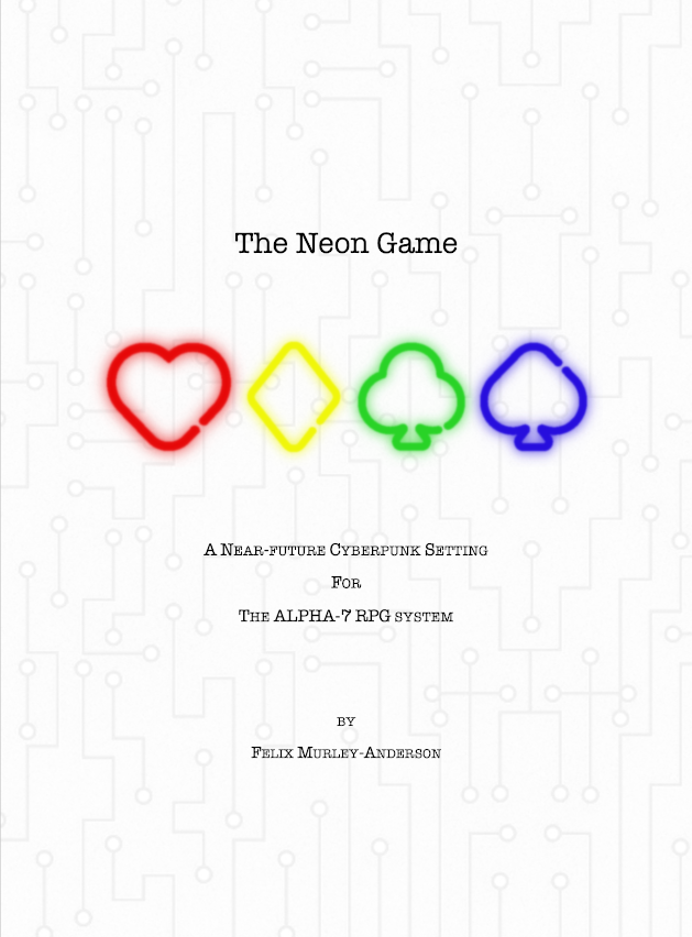 The Neon Game - Full Version