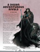 A Dozen Adventurous Rivals