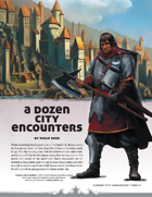A Dozen City Encounters