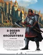 A Dozen City Encounters