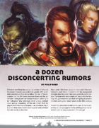 A Dozen Disconcerting Rumors