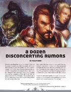 A Dozen Disconcerting Rumors