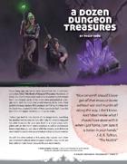A Dozen Dungeon Treasures