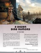 A Dozen Dire Rumors