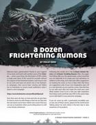 A Dozen Frightening Rumors
