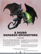 A Dozen Dungeon Encounters