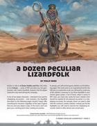 A Dozen Peculiar Lizardfolk