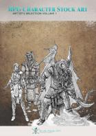 Character Art Pack - RPG Stock Art - Artist's Selection Volume 1