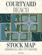 Courtyard Beach Stock Commercial Use Map