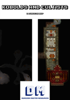Kobolds and Cultists - A Dungeon Map incl. Realm Works file