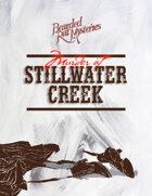 Murder at Stillwater Creek, A Murder Mystery Game