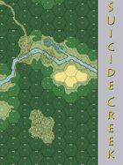 Suicide Creek HASL Map