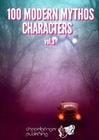 100 MODERN MYTHOS CHARACTERS vol3