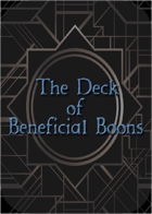 Deck of Beneficial Boons