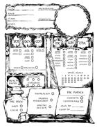 Wizard Character Sheet