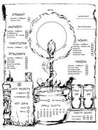 Sorcerer Character Sheet