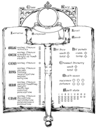 Cleric Character Sheet