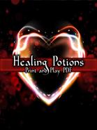 Healing Potion PnP Cards